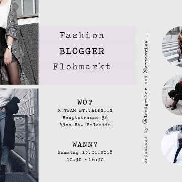 BlogFashion-Blogger Flohmarkt am 13.01!
